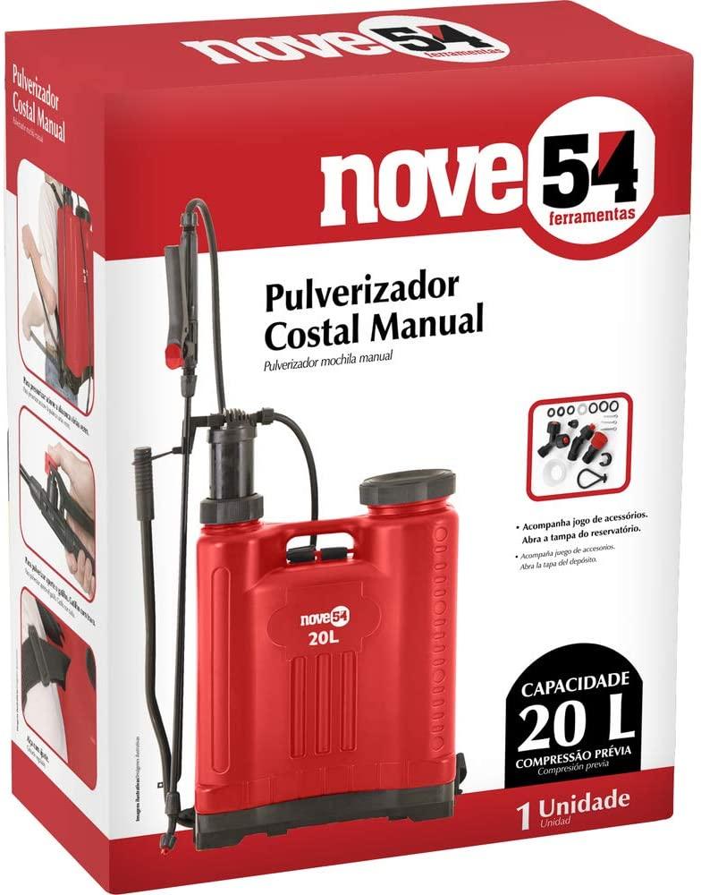Pulverizador Costal Manual Bomba De Passar Veneno 20l Nove54