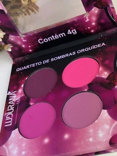 Quarteto De Sombras Orquidea - Ludurana