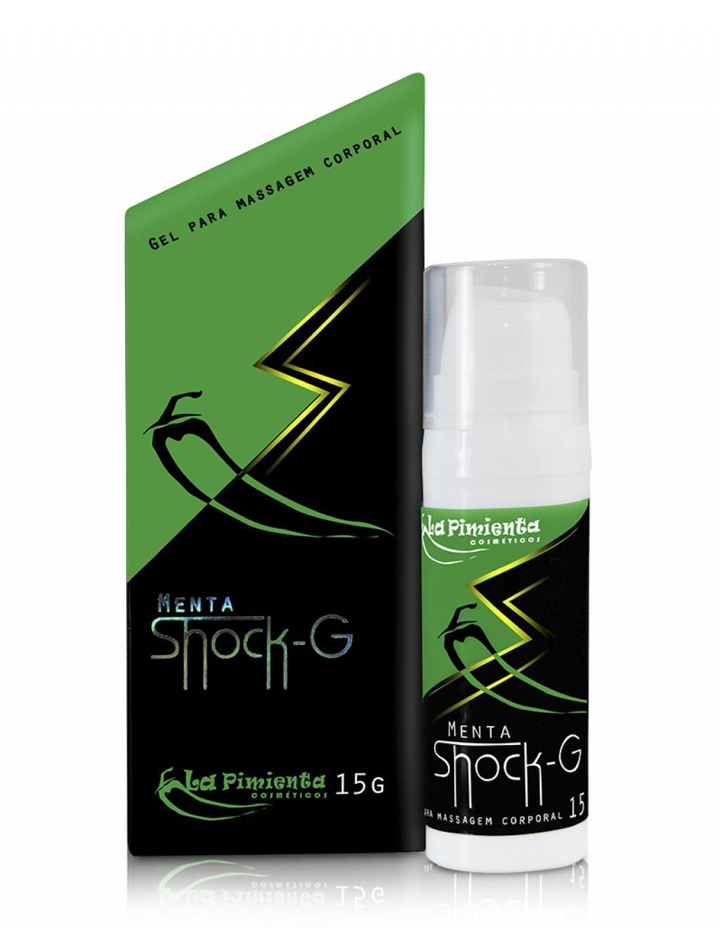 Shock G Gel Vibrador Liquido La Pimienta