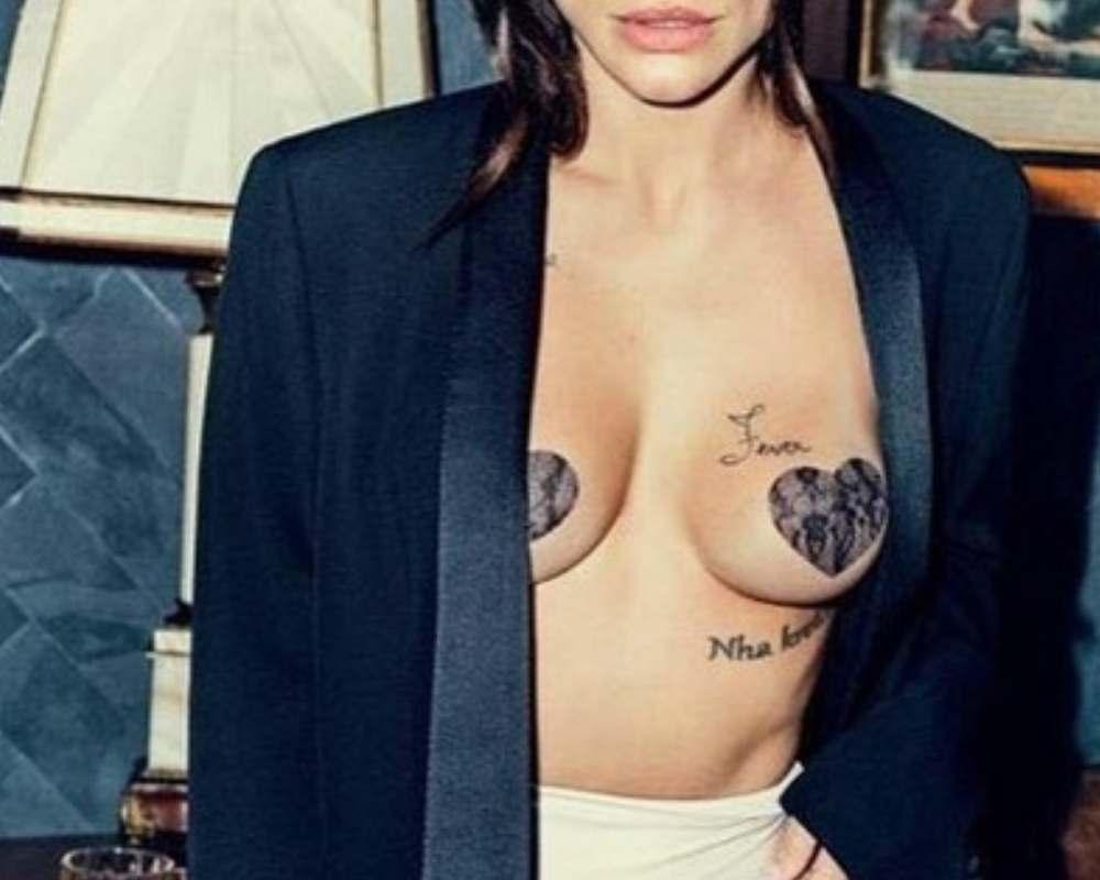 Tapa Mamilos Protetor De Seios Bico Coração Nipple Cover