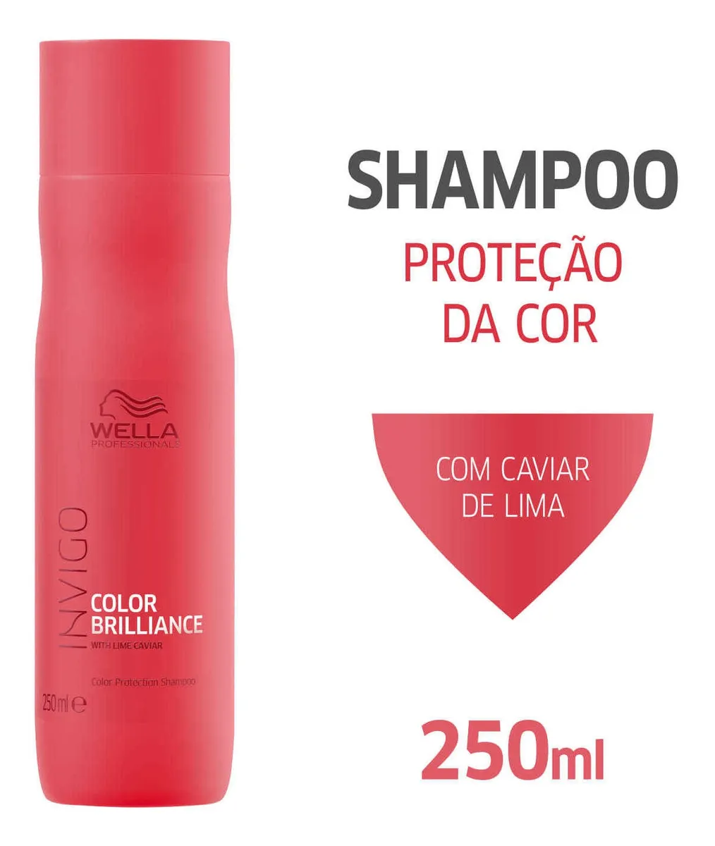 Wella Invigo Color Brilliance - Shampoo 250ml Blz