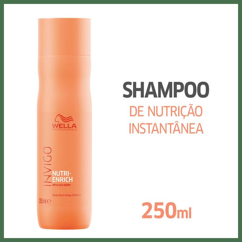 Wella Invigo Nutri Enrich Shampoo 250ml+ Condicionador 200ml