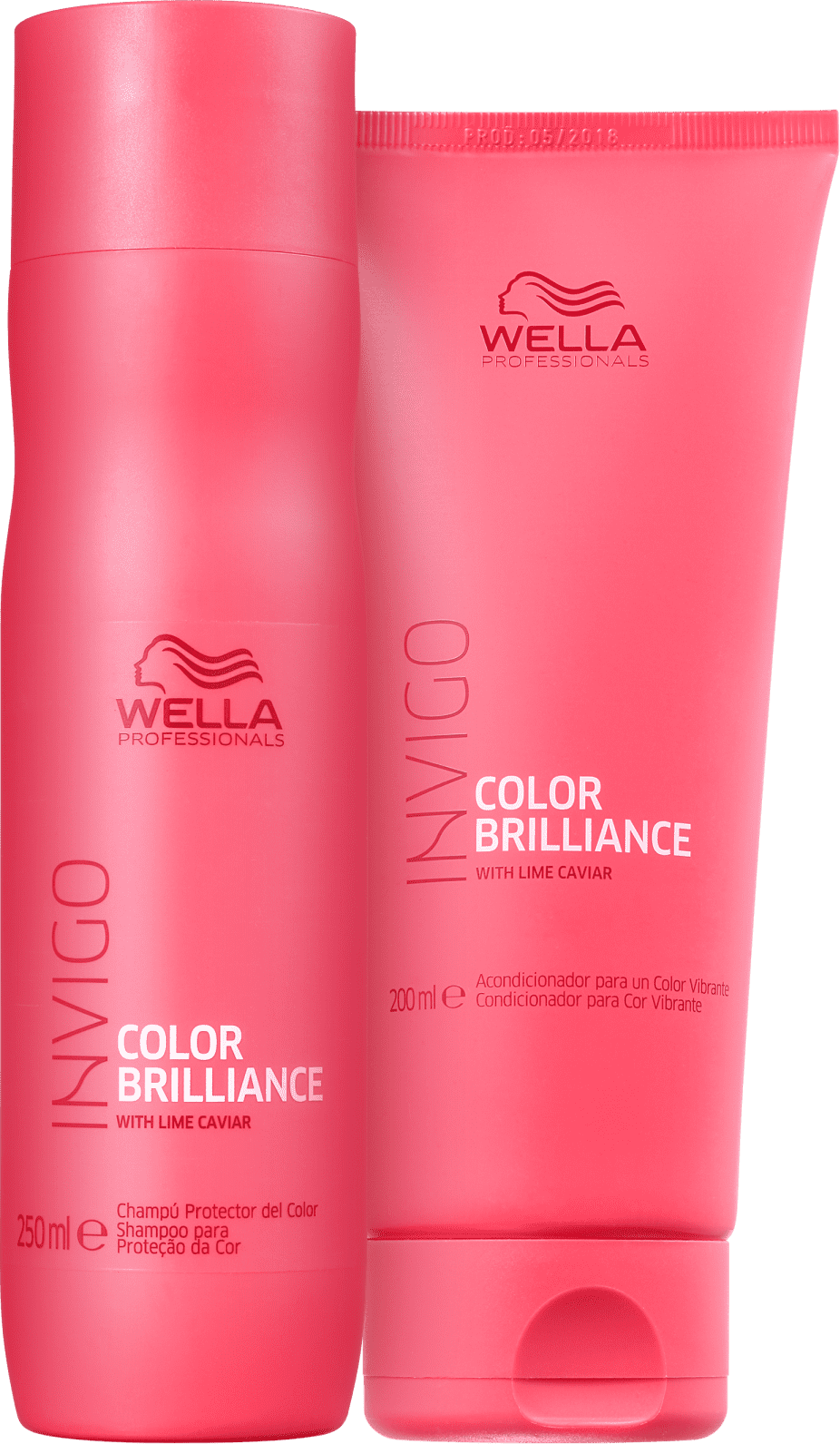 Wella Invigo Shampoo 250ML E Cond 200ML Color Brilliance