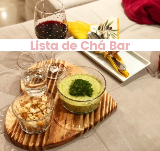 Lista de Chá Bar