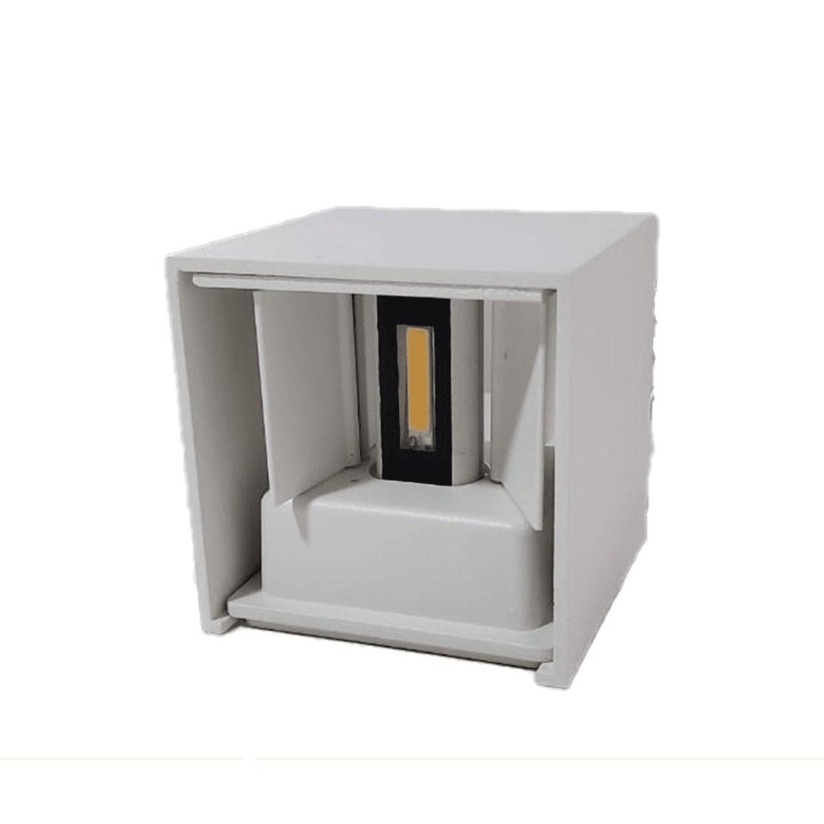 ARANDELA 6W 2 FACHOS 6500K (Branco Frio)