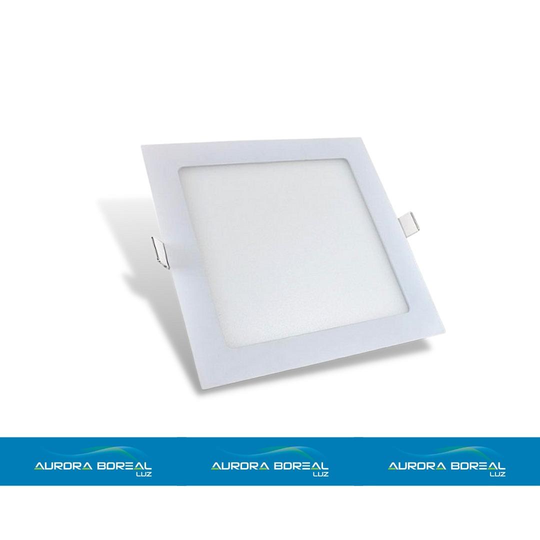 PAINEL LED 18W EMBUTIR -  6500K (Branco Frio)