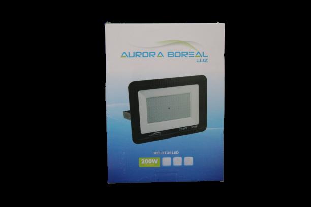 REFLETOR LED 200W PREMIUM 6500K- AURORA