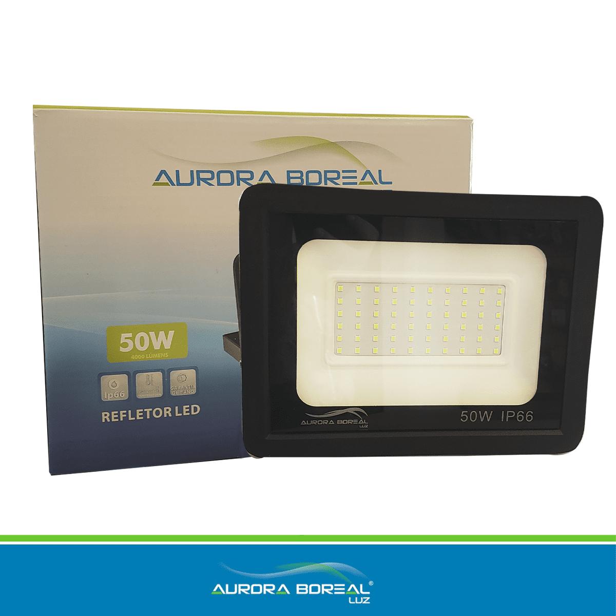 REFLETOR LED 50W-  6500K (Branco Frio)
