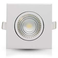 SPOT LED QUADRADO 5W - 4000K (Branco Neutro)