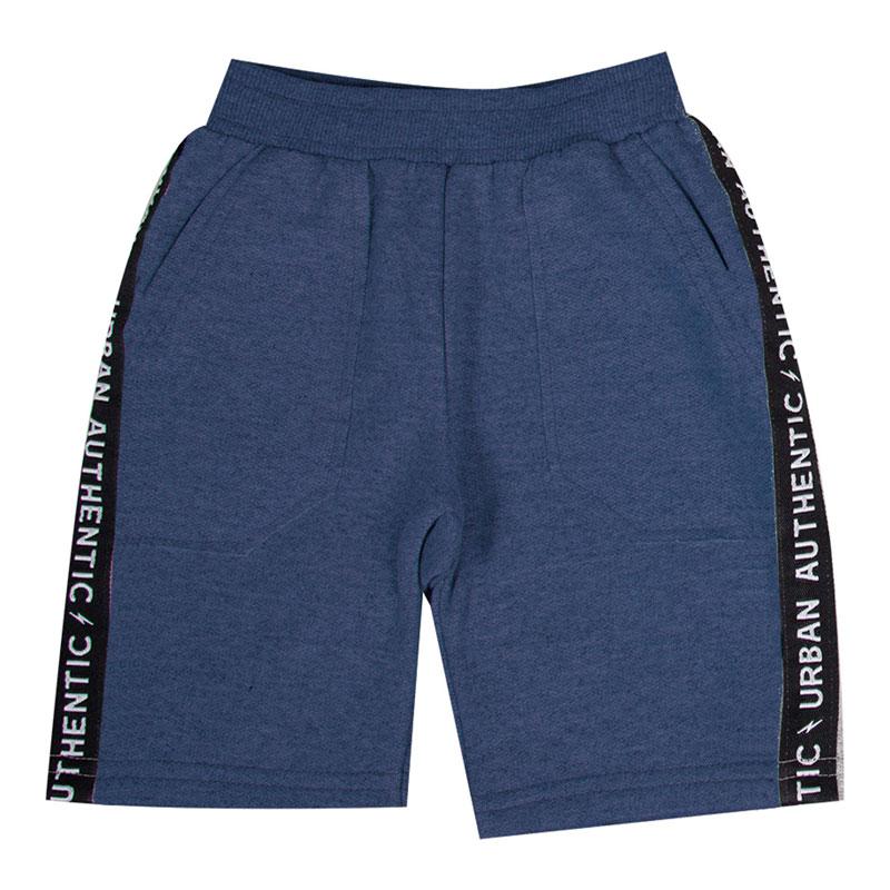 Bermuda Infantil Menino com Bolso Azul