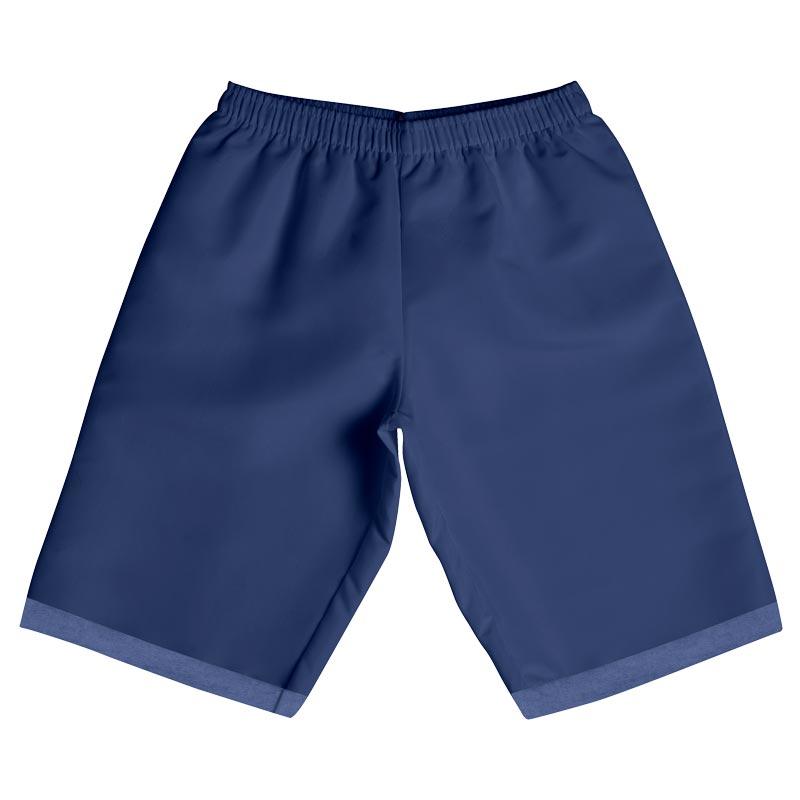 Bermuda Infantil Menino Liso Azul