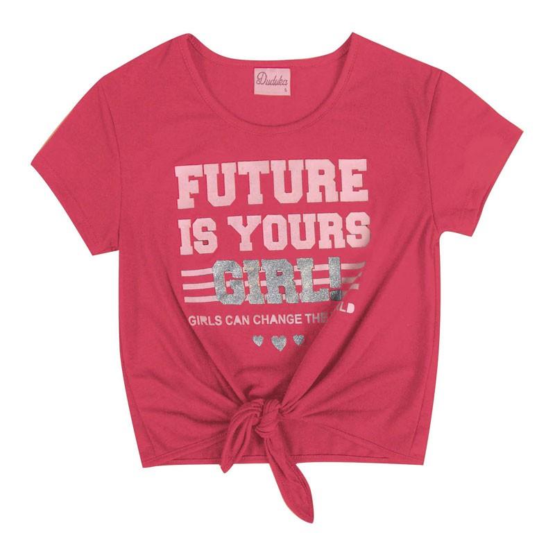 Blusa Infantil Menina Future Rosa