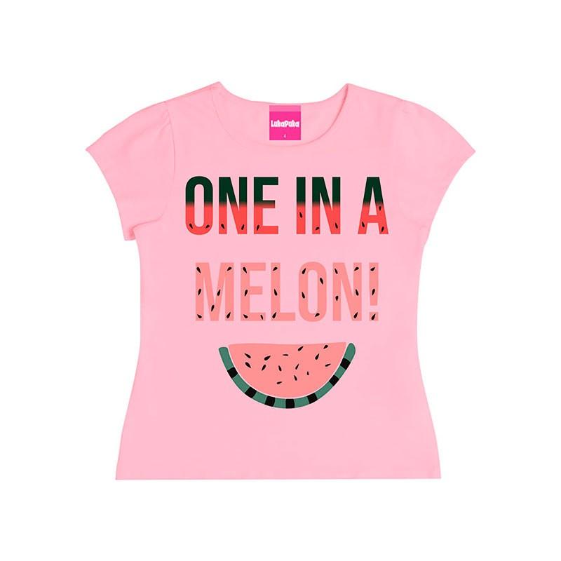 Blusa Infantil Menina Melon Rosa