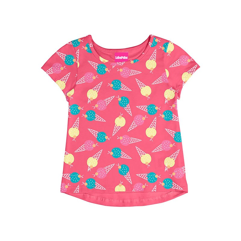 Blusa Infantil Menina Rosa
