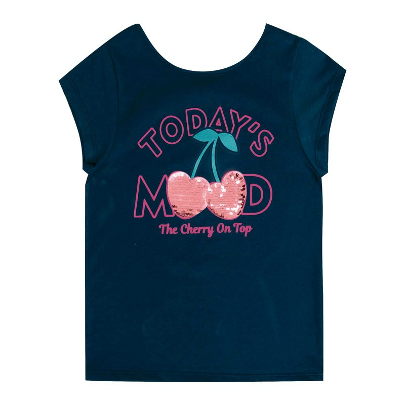 Blusa Infantil Menina Todays Mood Azul