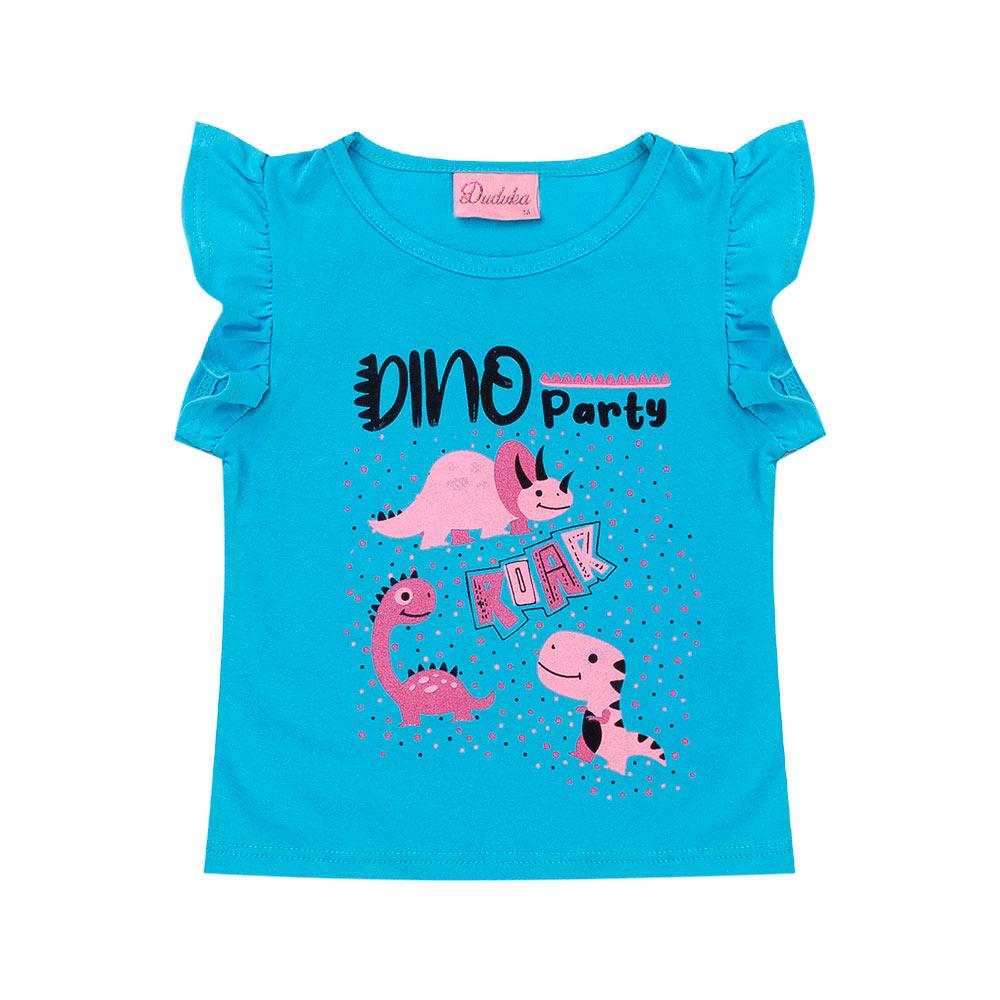 Blusa Menina Dino - Duduka