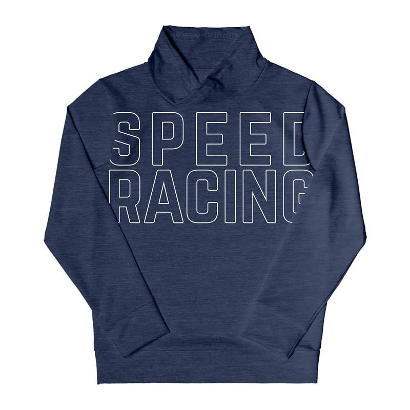 Blusão DDK Infantil Menino Speed Racing Azul