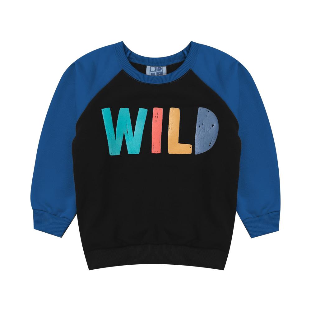 Blusão DDK Infantil Menino Wild Azul
