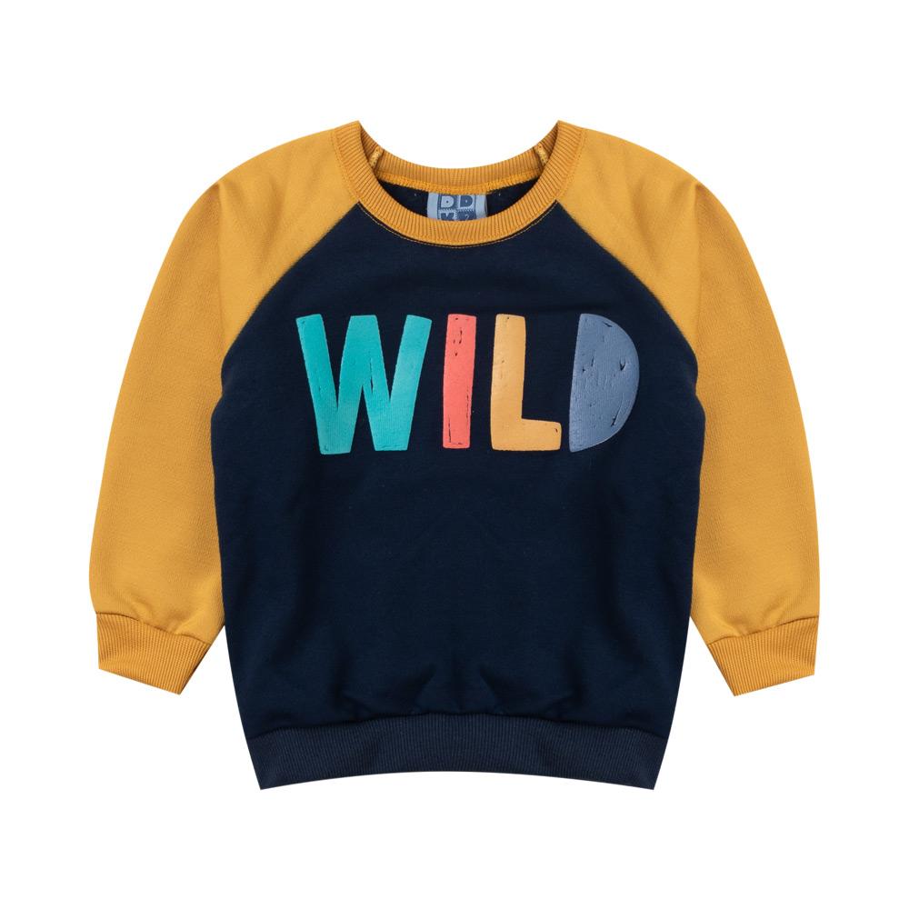 Blusão DDK Infantil Menino Wild Preto