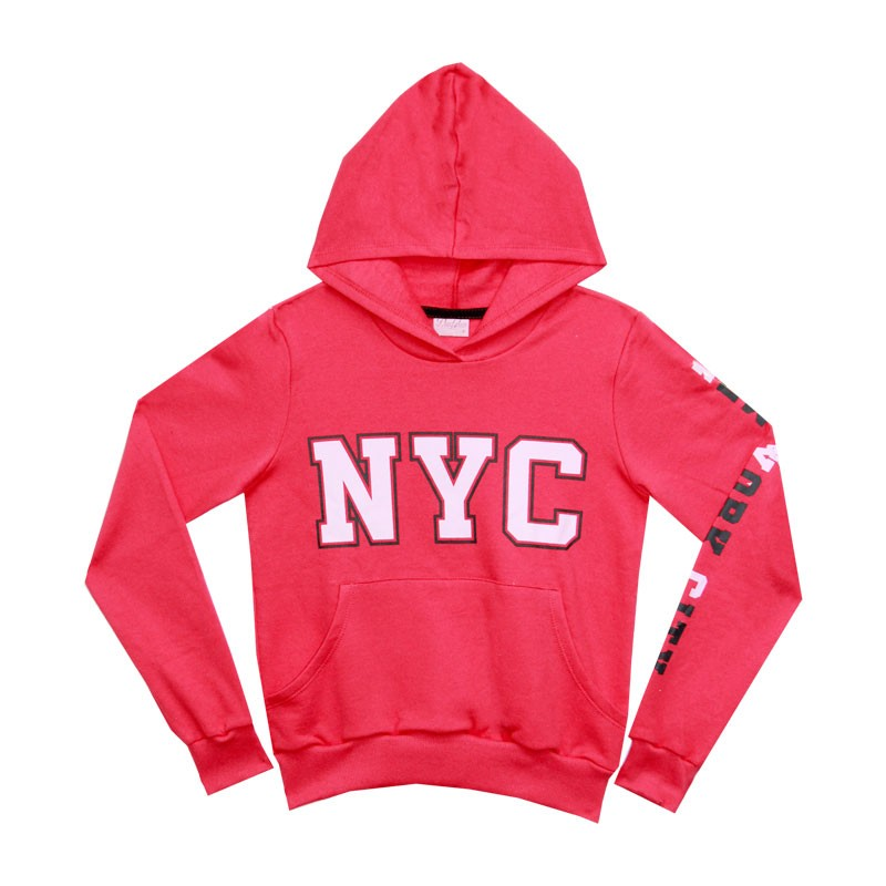 Blusão Duduka Juvenil Menina NYC Rosa