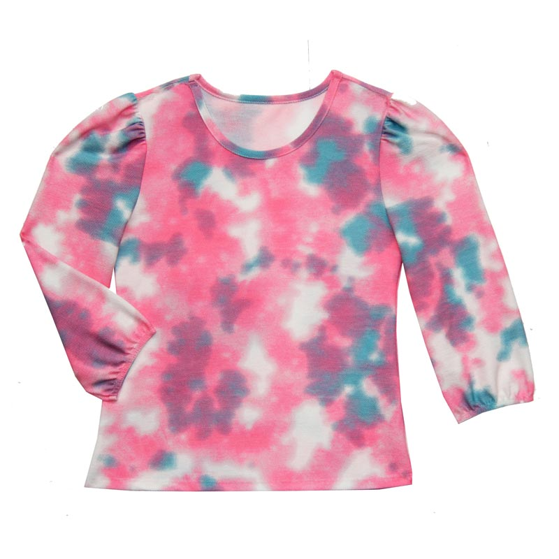 Blusão Feminina Adulto Tie Dye Rosa