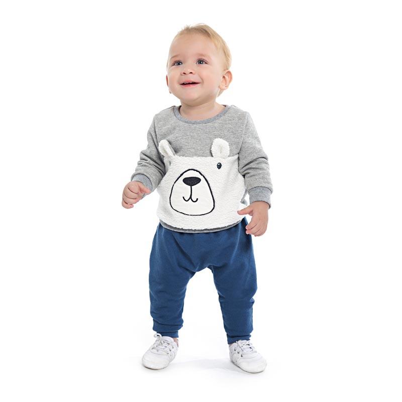 Blusão Menino Urso - DDK