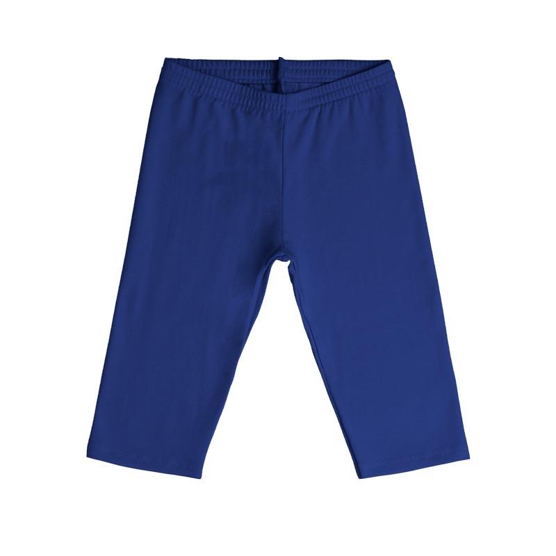 Calça Capri Infantil Menina Azul