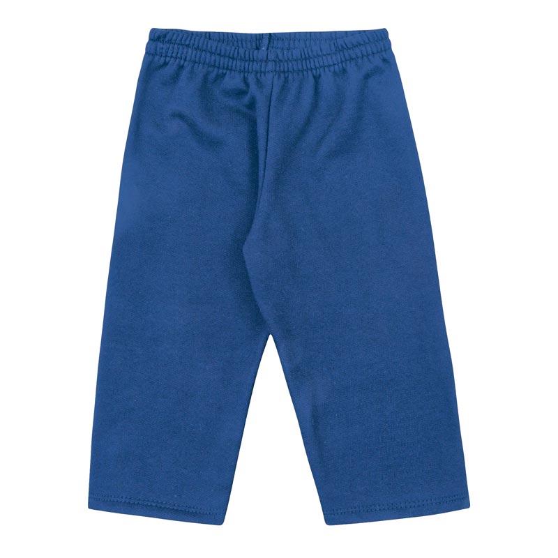 Calça DDK Infantil Menino Liso Azul