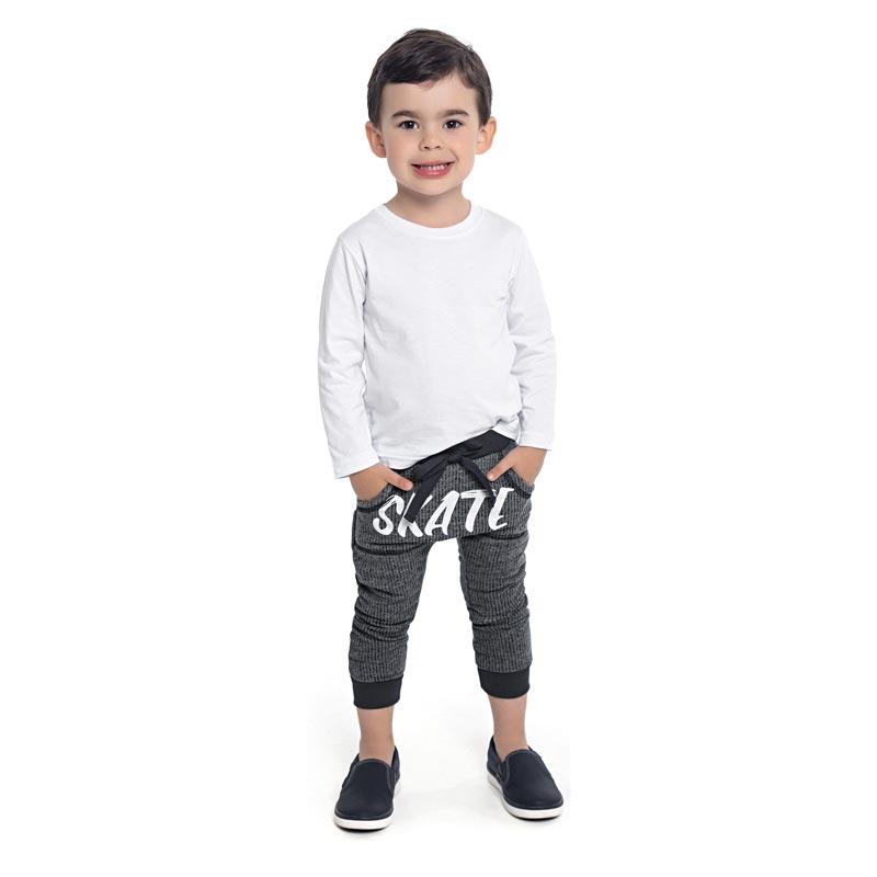 Calça DDK Infantil Menino Skate Preto