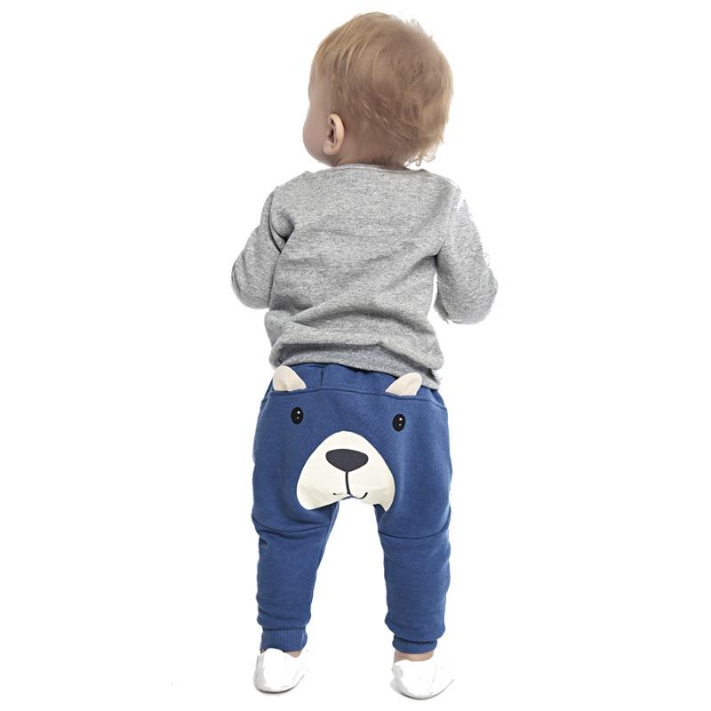 Calça DDK Infantil Menino Urso Azul