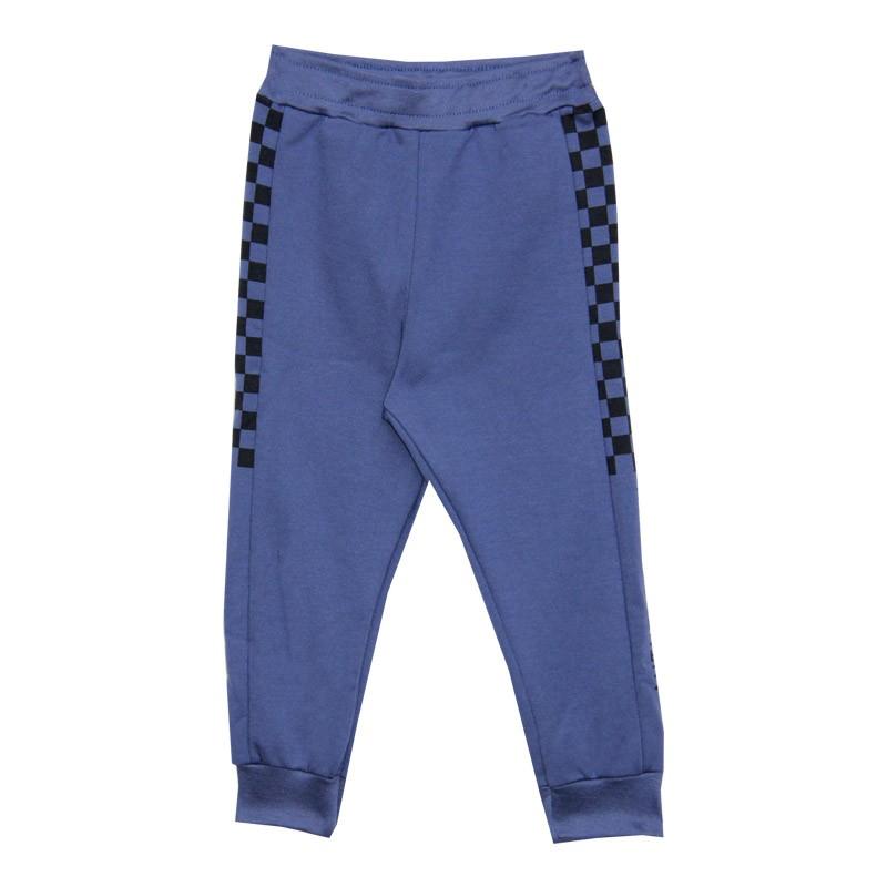 Calça DDK Infantil Menino Xadrez Azul