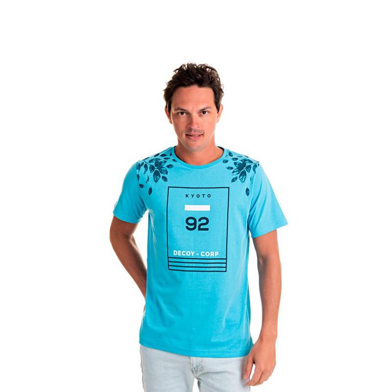 Camiseta Adulto Masculina 92 Azul