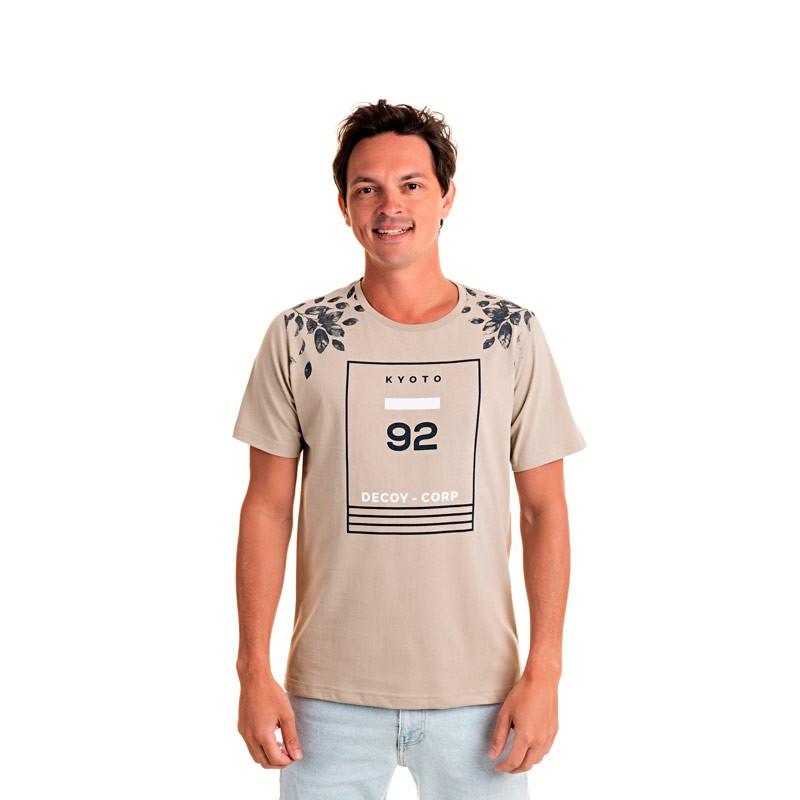 Camiseta Adulto Masculina 92 Bege