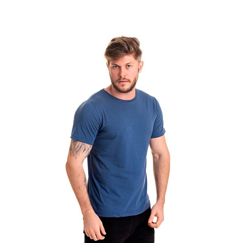 Camiseta Decoy Adulto Masculina Básica Azul