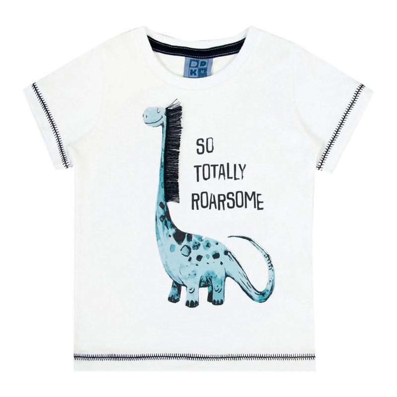 Camiseta Bebê Menino Interativa Branco