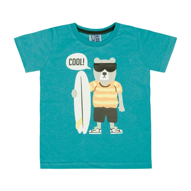 Camiseta DDK Bebê Menino Cool Verde