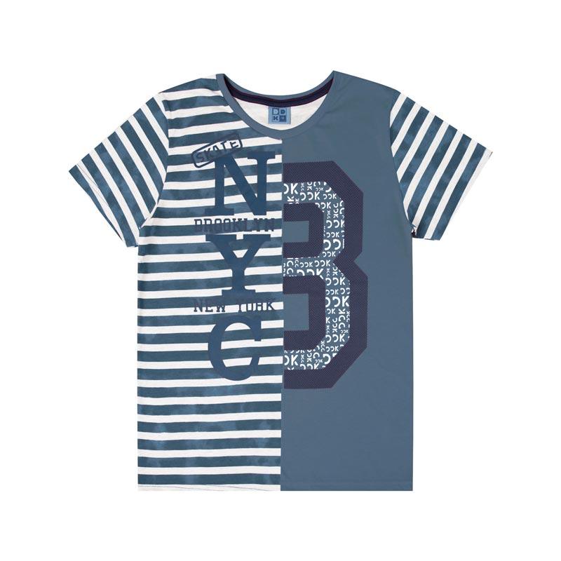 Camiseta DDK Infantil Menino 8 Azul