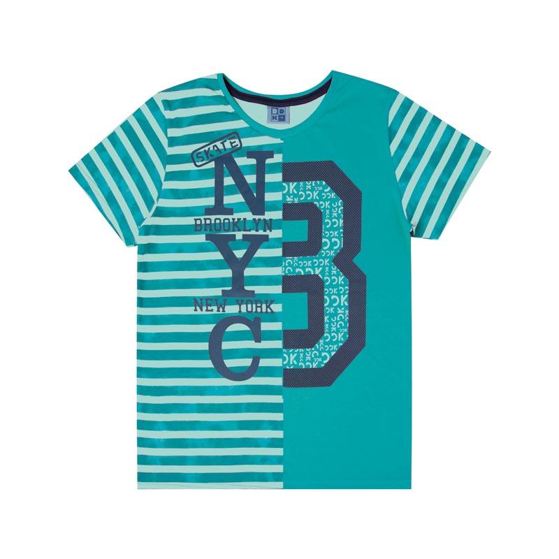 Camiseta DDK Infantil Menino 8 Verde