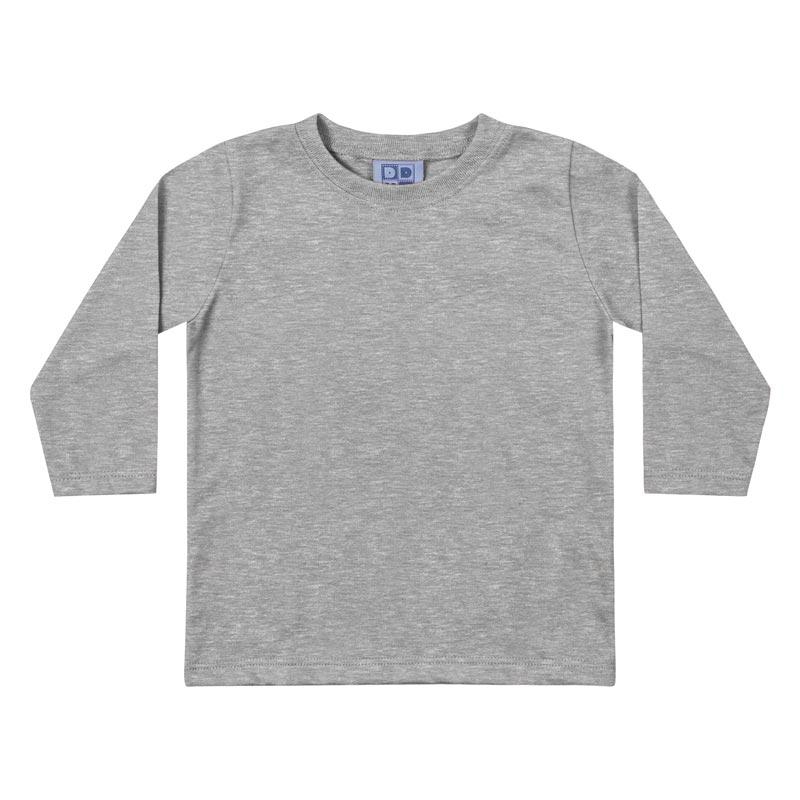 Camiseta DDK Infantil Menino Básica Mescla
