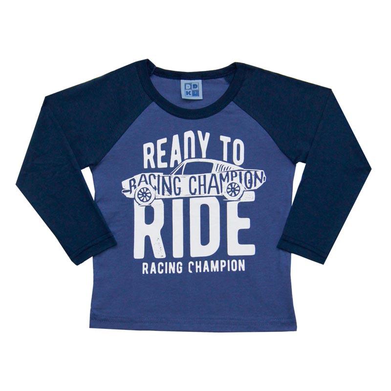 Camiseta Menino Racing Champion - DDK