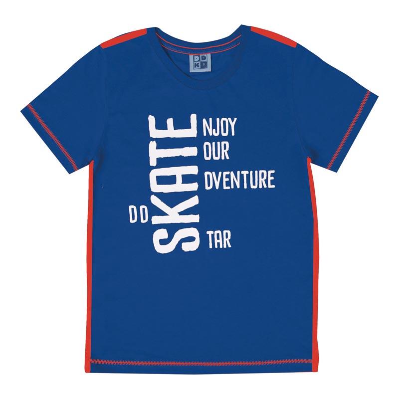 Camiseta DDK Infantil Menino Skate Azul