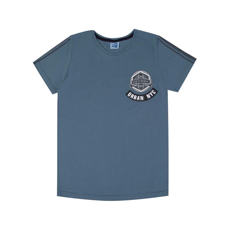 Camiseta DDK Infantil Menino Urban NY Azul
