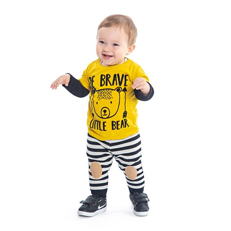 Camiseta Menino Little Bear - DDK