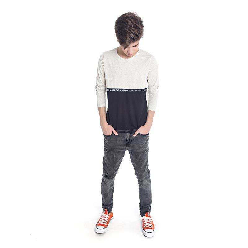 Camiseta DDK Juvenil Menino Bege