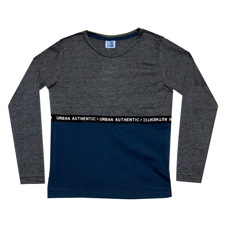 Camiseta DDK Juvenil Menino Cinza