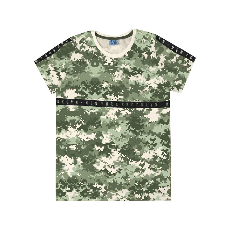 Camiseta DDK Juvenil Menino Verde
