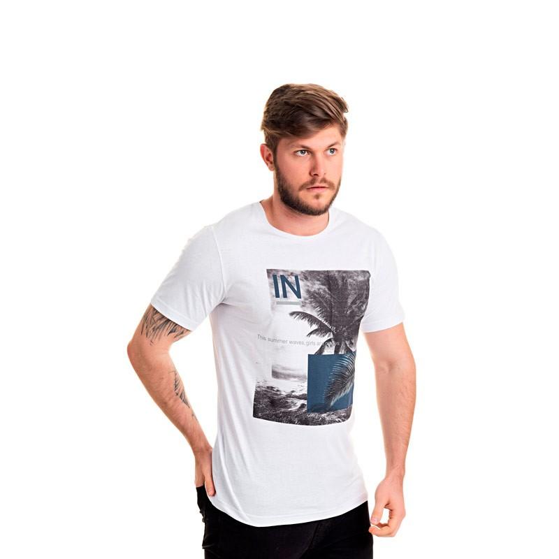 Camiseta Decoy Adulto Coqueiro Branco