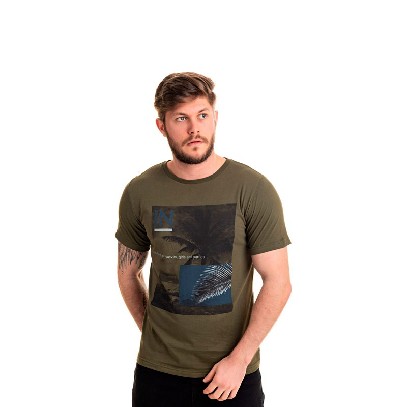Camiseta Decoy Adulto Coqueiro Verde