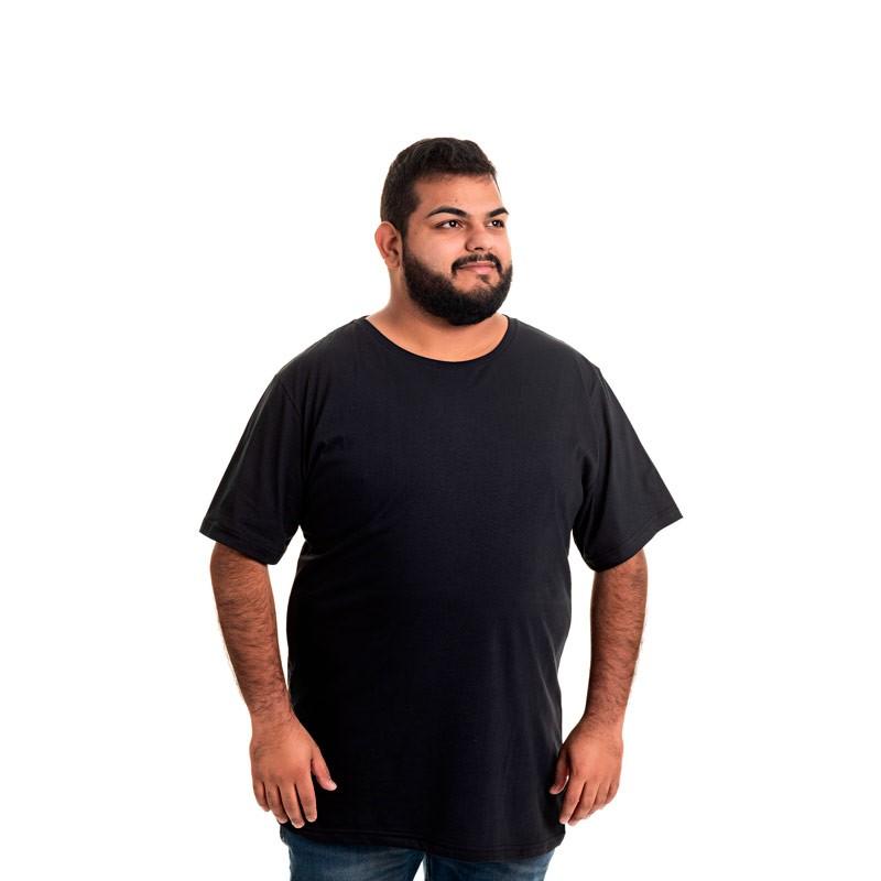 Camiseta Decoy Plus Size Masculino Básica Preto