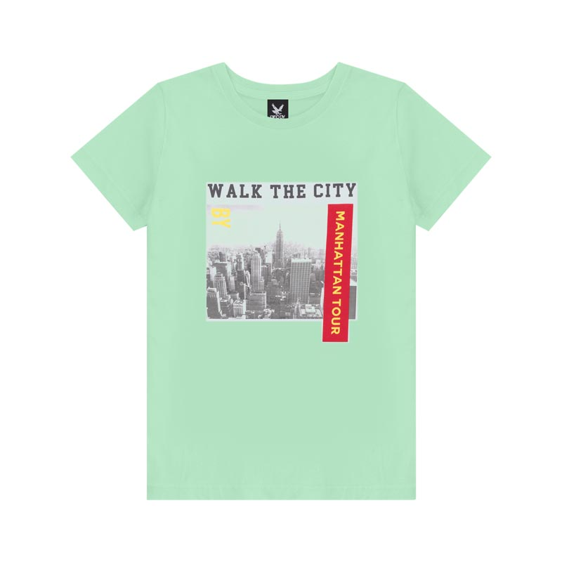 Camiseta Decoy Plus Size Masculino CIty Verde